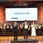 CodeGym nhận giải thưởng Sao Khuê 2021 về lĩnh vực Đào tạo CNTT